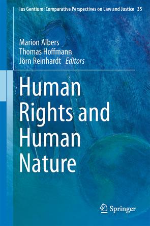 Human Rights and Human Nature von Albers,  Marion, Hoffmann,  Thomas, Reinhardt,  Jörn