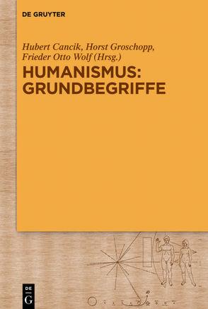 Humanismus: Grundbegriffe von Cancik,  Hubert, Groschopp,  Horst, Wolf,  Frieder Otto