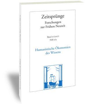 Humanistische Ökonomien des Wissens von Frömmer, Judith, Otto, André