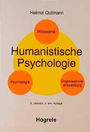 Humanistische Psychologie von Quitmann,  Helmut