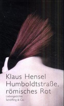 Humboldtstrasse, römisches Rot von Hensel,  Klaus