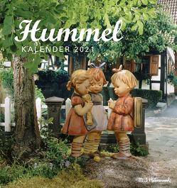 Hummel 2021 – Postkarten-Kalender – Kalender-mit-Postkarten – zum-raustrennen – 16×17 von Hummel,  Maria Innocenta
