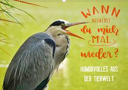 Humorvolles aus der Tierwelt (Wandkalender 2021 DIN A2 quer) von Jäger und Mimi,  Anette
