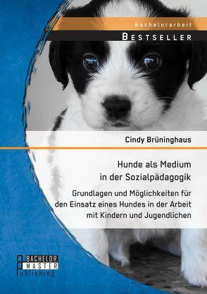 Hunde als Medium in der Sozialpädagogik: Grundlagen und Möglichkeiten für den Einsatz eines Hundes in der Arbeit mit Kindern und Jugendlichen von Brüninghaus,  Cindy