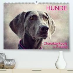 HUNDE-Chrakaterköpfe im Portrait (Premium, hochwertiger DIN A2 Wandkalender 2021, Kunstdruck in Hochglanz) von Möckel / Lucy L!u,  Claudia