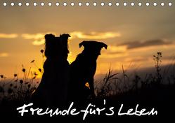 Hunde – Freunde für's Leben (Tischkalender 2020 DIN A5 quer) von Schulz,  Elke