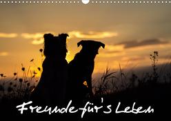 Hunde – Freunde für's Leben (Wandkalender 2020 DIN A3 quer) von Schulz,  Elke