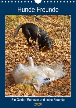 Hunde Freunde (Wandkalender 2020 DIN A4 hoch) von kattobello