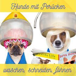 Hunde mit Perücken von Hübsch,  Bibi