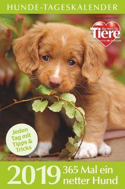 Hunde-Tageskalender 2019