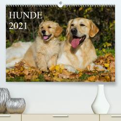 Hunde – Treue Freunde für´s Leben (Premium, hochwertiger DIN A2 Wandkalender 2021, Kunstdruck in Hochglanz) von Starick,  Sigrid