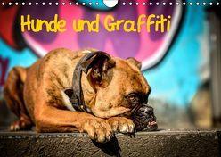 Hunde und Graffiti (Wandkalender 2019 DIN A4 quer) von Janetzek,  Yvonne