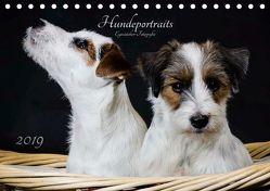Hundeportraits Eyecatcher-Fotografie (Tischkalender 2019 DIN A5 quer) von Heggemann,  Christiane