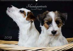 Hundeportraits Eyecatcher-Fotografie (Wandkalender 2019 DIN A2 quer) von Heggemann,  Christiane