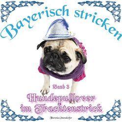 Hundepullover im Trachtenstrick von Ostendorfer,  Theresia