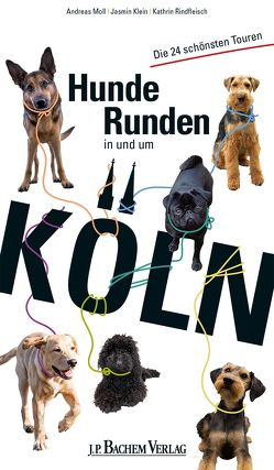 Hunderunden in und um Köln von Klein,  Jasmin, Moll,  Andreas, Rindfleisch,  Kathrin