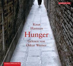 Hunger von Angermann,  S., Hamsun,  Knut, Sandmeier,  J., Werner,  Oskar