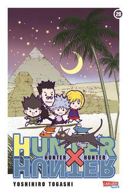 Hunter X Hunter 20 von Togashi,  Yoshihiro, Yamada,  Hiro
