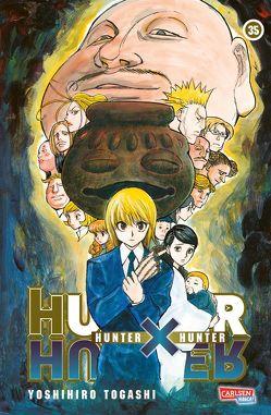 Hunter X Hunter 35 von Togashi,  Yoshihiro, Yamada,  Hiro