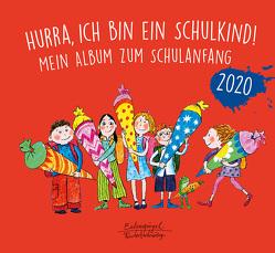 Hurra, ich bin ein Schulkind! 2020 von Hellbach,  Hans, Knebel,  Katharina