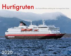 Hurtigruten 2020 Großformat-Kalender 58 x 45,5 cm