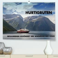 Hurtigruten – Bezaubernde Schönheit der norwegischen Küste (Premium, hochwertiger DIN A2 Wandkalender 2021, Kunstdruck in Hochglanz) von Pfeiffer,  Ralf