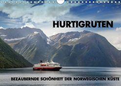 Hurtigruten – Bezaubernde Schönheit der norwegischen Küste (Wandkalender 2019 DIN A4 quer) von Pfeiffer,  Ralf