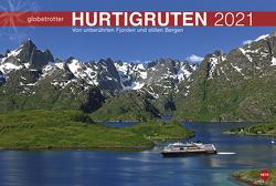 Hurtigruten Globetrotter Kalender 2021 von Heye