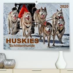 Huskies – Schlittenhunde (Premium, hochwertiger DIN A2 Wandkalender 2020, Kunstdruck in Hochglanz) von Roder,  Peter