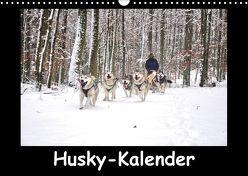 Husky-Kalender (Wandkalender 2018 DIN A3 quer) von andiwolves,  k.A.