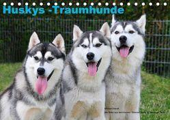 Huskys – Traumhunde (Tischkalender 2018 DIN A5 quer) von Ebardt,  Michael