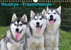 Huskys – Traumhunde (Wandkalender 2019 DIN A4 quer) von Ebardt,  Michael
