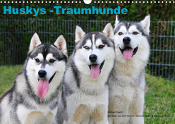 Huskys – Traumhunde (Wandkalender 2020 DIN A3 quer) von Ebardt,  Michael