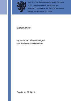 Hydraulische Leistungsfähigkeit von Straßenablauf-Aufsätzen von Kemper,  Svenja