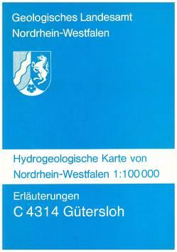 Hydrogeologische Karten von Nordrhein-Westfalen 1:100000 / Gütersloh von Koch,  Michael, Michel,  Gert