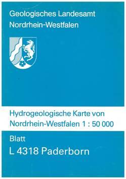 Hydrogeologische Karten von Nordrhein-Westfalen 1:50000 / Paderborn von Michel,  Gert