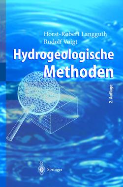 Hydrogeologische Methoden von Langguth,  Horst-Robert, Voigt,  Rudolf