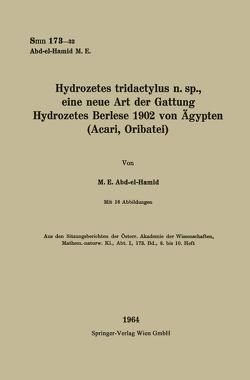 Hydrozetes tridactylus n. sp., eine neue Art der Gattung Hydrozetes Berlese 1902 von Ögypten von Abd-el-Hamid,  Muhammad Elwi