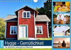 Hygge. Gemütlichkeit. Der glückliche Lebensstil aus Dänemark. (Wandkalender 2019 DIN A4 quer) von Lehmann (Hrsg.),  Steffani