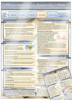 Hypnose Quickfinder II – Transformation in Trance von Cammerer,  Gaby, Cremer,  Samuel