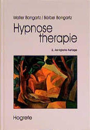 Hypnosetherapie von Bongartz,  Bärbel, Bongartz,  Walter