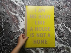 I AM NO BODY LIKE A HOUSE IS NOT A HOME von Walter,  Mirjam