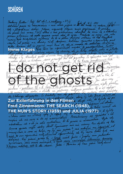 I do not get rid of the ghosts. von Klages,  Imme