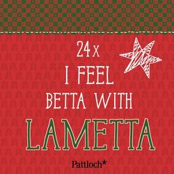 I feel betta with lametta