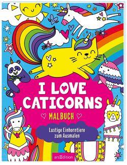 I love Caticorns – Malbuch von Wade,  Sarah