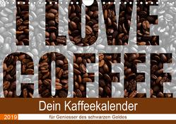 I Love Coffee – Dein Kaffeekalender für Geniesser des schwarzen Goldes (Wandkalender 2019 DIN A4 quer) von Widerstein - SteWi.info,  Stefan