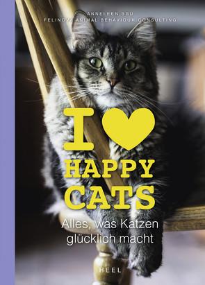 I love Happy Cats von Bru,  Anneleen