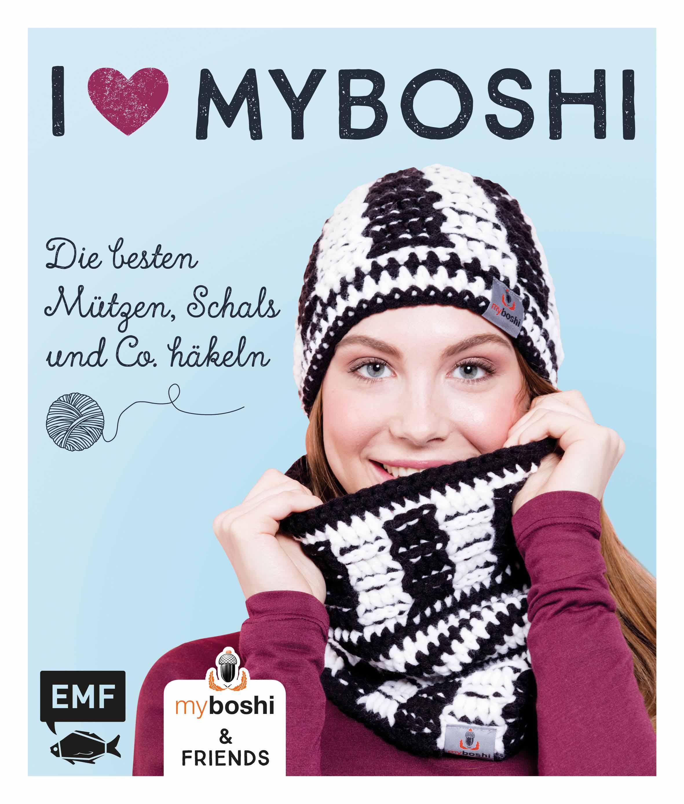 I Love Myboshi Die Besten Mützen Schals Und Co Häkeln Von Jaen