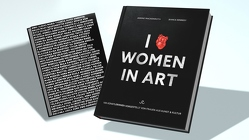 I LOVE WOMEN IN ART von Kennedy,  Bianca, Mackenroth,  Janine