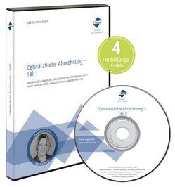 i-med DVD-Fortbildung: Zahnärztliche Abrechnung von Schroeder,  Sabine
